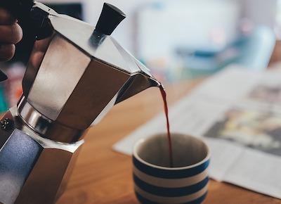 贅沢なコーヒータイムでリラックス