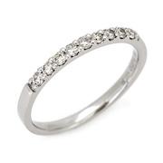 エタニティーリング ダイヤモンド 0.15ct ハードプラチナ950の商品写真