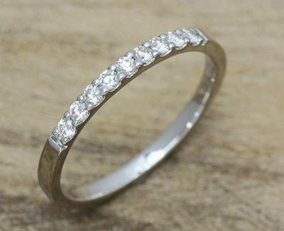 エタニティーリング ダイヤモンド 0.18ct ハードプラチナ950