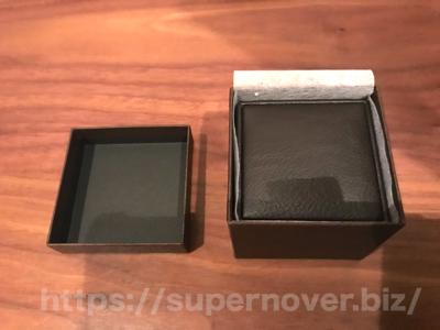 エタニティーリング ダイヤモンド 0.18ct ハードプラチナ950の2重箱に収納されている様子