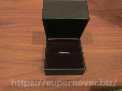 エタニティーリング ダイヤモンド 0.18ct ハードプラチナ950の収納