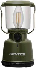 GENTOS(ジェントス) LED ランタン 【明るさ400ルーメン/実用点灯30-200時間/防滴】 エクスプローラー EX-400F