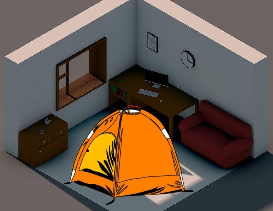 家・部屋キャンプのススメ!必要な道具&家キャンプの楽しみ方・テクニックを紹介!