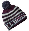 L.L.Bean (エルエルビーン)Katahdin Pom Hat Stripe Unisex(カタディン・ポム・ハット、ストライプ)