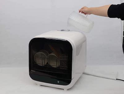 タンク式食洗機の給水のしやすさ