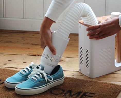 靴(くつ)・ブーツの乾燥にも使える!