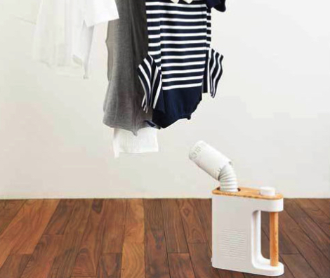 BRUNO マルチふとんドライヤーは洗濯物の乾燥にも使える!